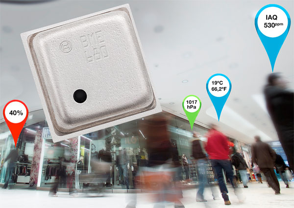 Combo MEMS sensor solution with integrated gas sensor launches at CES
