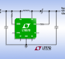LT8570 – Boost/SEPIC/Inverting DC/DC Converter with 65V Switch, Soft-Start and Synchronization