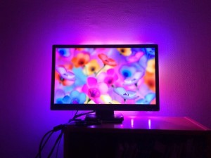 DIY FPGA-based HDMI ambient lighting