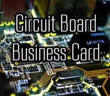 Design Your Own PCB Business Card
