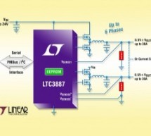 LTC3887/LTC3887-1 – Dual Output PolyPhase Step-Down DC/DC Controller with Digital Power System Management
