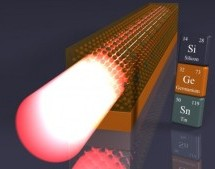 First germanium-tin semiconductor laser directly compatible with silicon chips