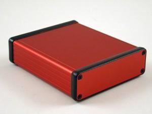 HAMMOND 1455 aluminium enclosures now also in attractive red version