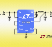 LTC7138 – High Efficiency, 140V 400mA Step-Down Regulator