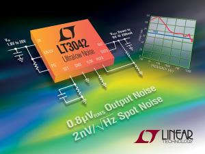 LT3042 - 20V, 200mA, Ultralow Noise, Ultrahigh PSRR RF Linear Regulator