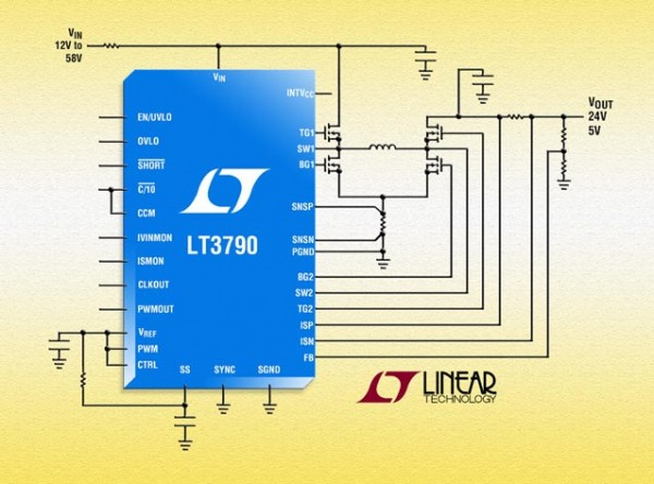 LT3790 - 60V Synchronous 4-Switch Buck-Boost Controller