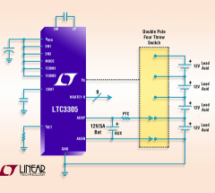 LTC3305 – Lead Acid Battery Balancer