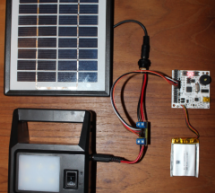 Logging harvested solar power using $15 Scorpion Board