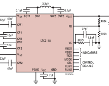 LTC3118 – 18V, 2A Buck-Boost DC/DC Converter with Low-Loss Dual Input PowerPath