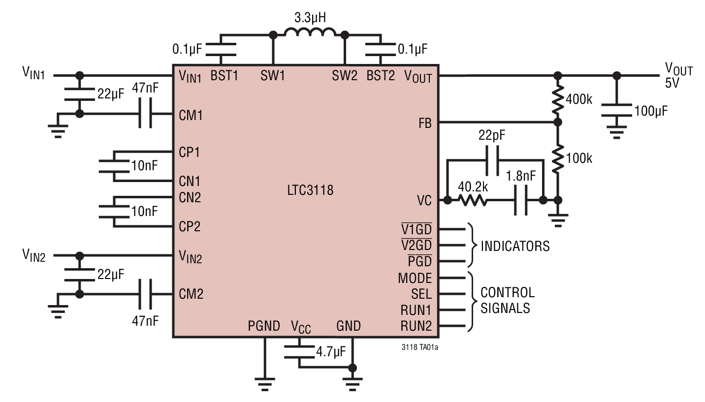 Low-Loss Dual Input PowerPath