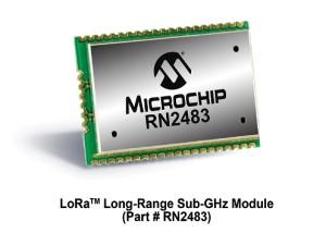 Microchip LoRa Network Module