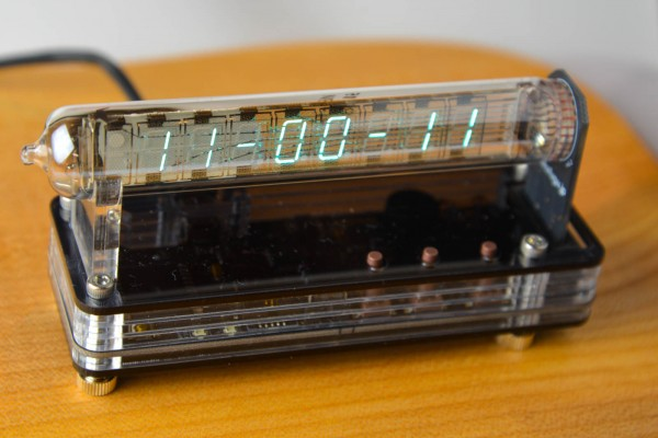 New Product - VFD Modular Clock IV-18 SMT