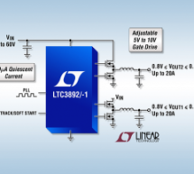 LTC3892 – 60V Low IQ, Dual, 2-Phase Synchronous Step-Down DC/DC Controller
