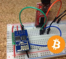 Retrieving Bitcoin Price Using ESP8266 WiFi Module