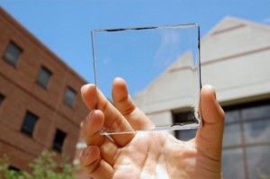 See-through solar concentrator harvests energy from sunlight