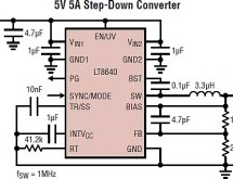 Silent Switcher with high efficiency and low EMI/EMC