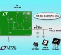 LT3088 – 800mA Single Resistor Rugged Linear Regulator