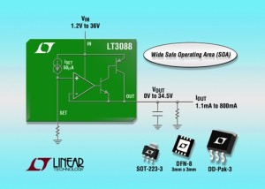 Single Resistor Rugged Linear Regulator