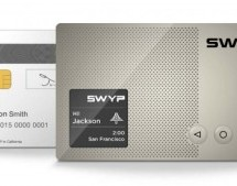 Swyp aims to replace all your plastic cards with one that's electronic