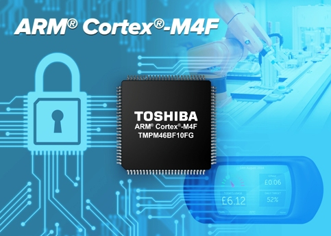 Toshiba Expands TX04 Range of ARM® Cortex®-M4F-Based Microcontrollers for Secure Communications Control