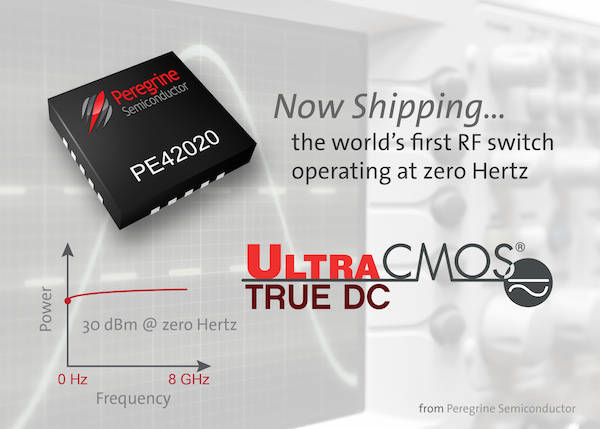 UltraCMOS® True DC RF Switch