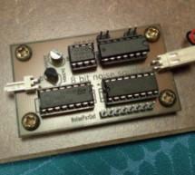 clocked 8-bit random pattern generator for CMOS synth