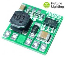 A low-cost 0.5A 33V LED driver module with 90+% efficiency