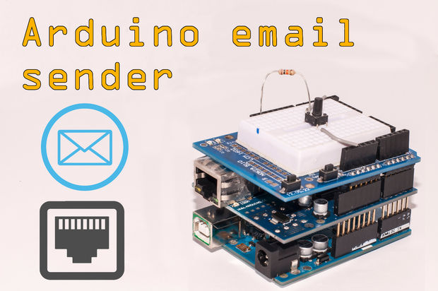 Arduino Email Sender with Ethernet adapter shield