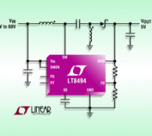 LT8494 – SEPIC/Boost DC/DC Converter with 2A, 70V Switch, and 7μA Quiescent Current