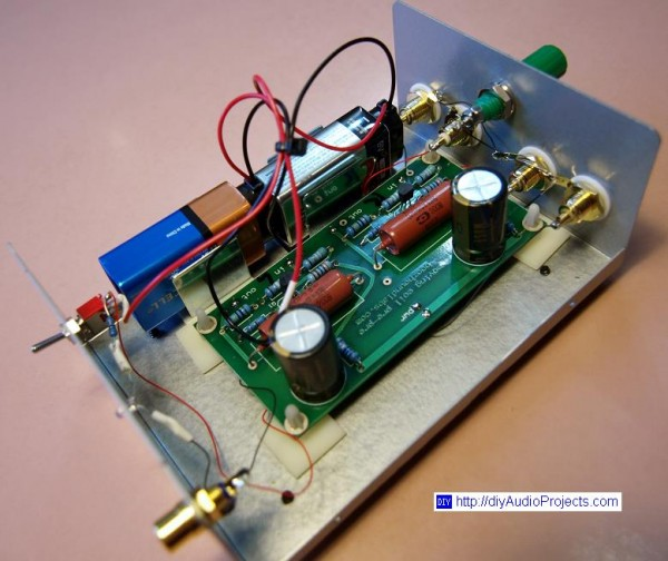 JFET Moving Coil (MC) Pre-Preamp Kit