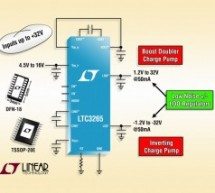 LTC3265 – Low Noise Dual Supply with Boost and Inverting Charge Pumps