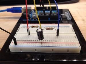 Measure Capacitance with Arduino