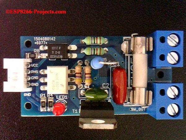 P3 - WIFI Mains Power Dimmer Switch with CBDBv2