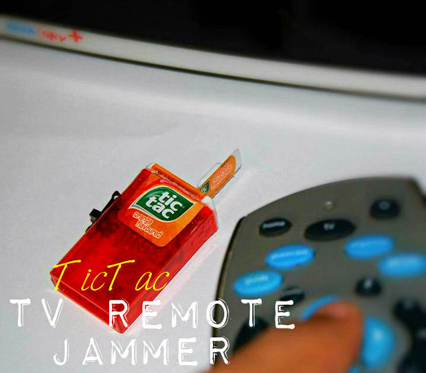 Tic-Tac TV Remote Jammer