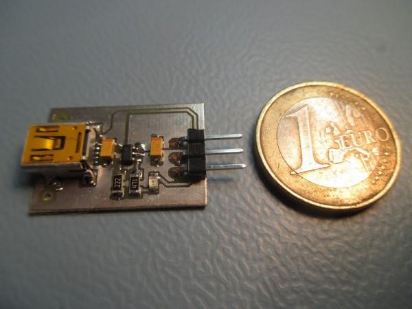USB Li-Ion battery charger
