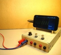 OscilloPhone: Use your Smartphone as an Oscilloscope / Signal Generator