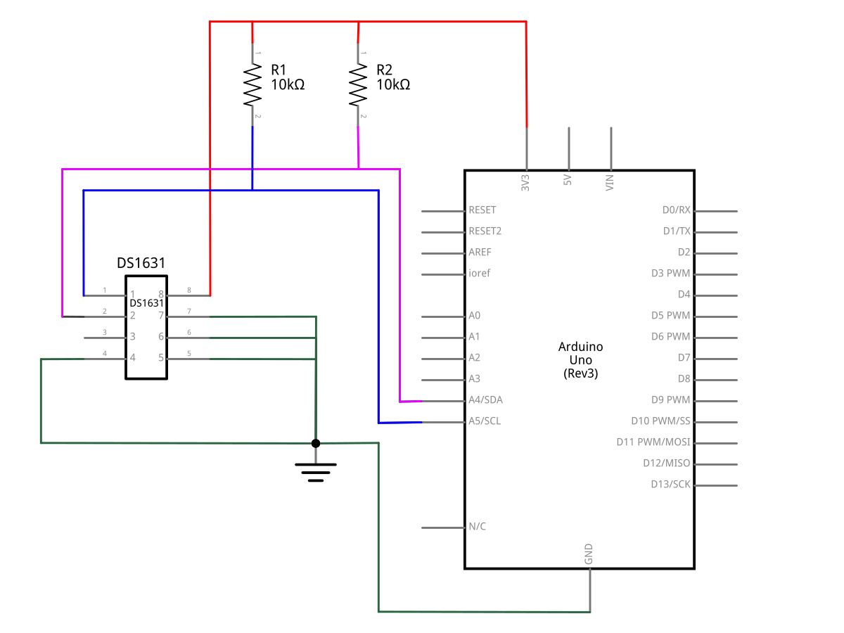 Schematic- Arduino Code and Temperature Validation