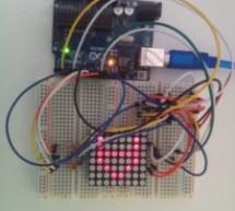 Interfacing 8×8 LED Matrix with Arduino
