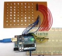 Scrolling Text Display on 8×8 LED Matrix using Arduino