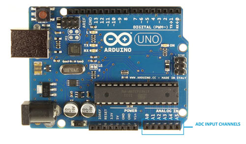 Arduino-ADC-Pins