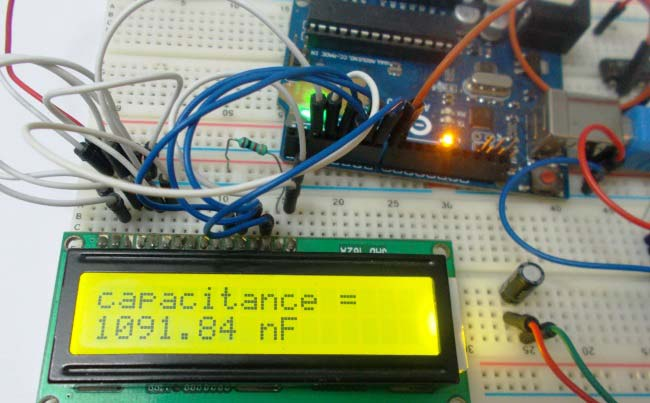 Capacitance Meter using Arduino