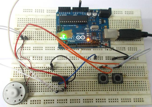 Arduino-DC-Motor-Control