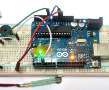 Working of Force Sensor with Arduino