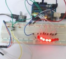 Arduino Based LED Chaser using Rotary Encoder