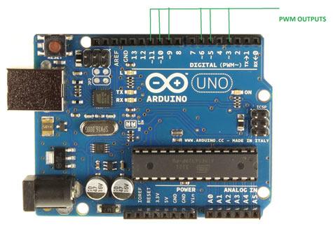 Arduino-PWM-Pins
