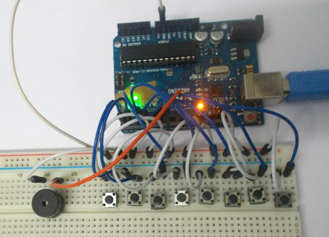 Arduino-Tone-Generator