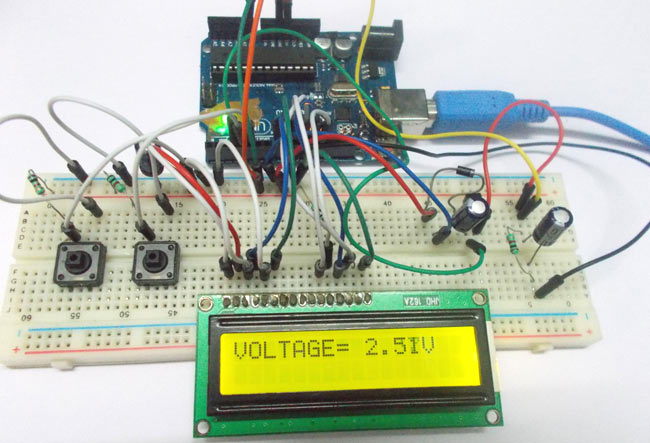 Arduino-Variable-Power-Supply