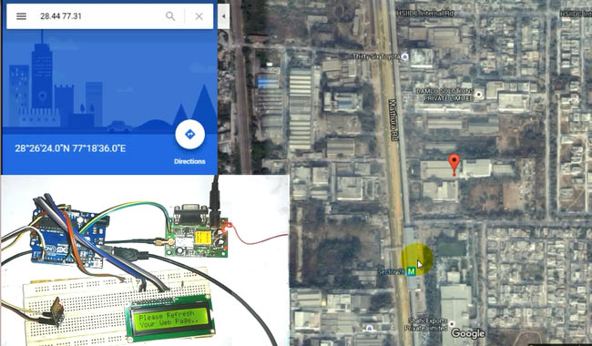 Arduino-Vehicle-Tracking