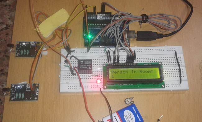 Arduino-Visitor-Counter