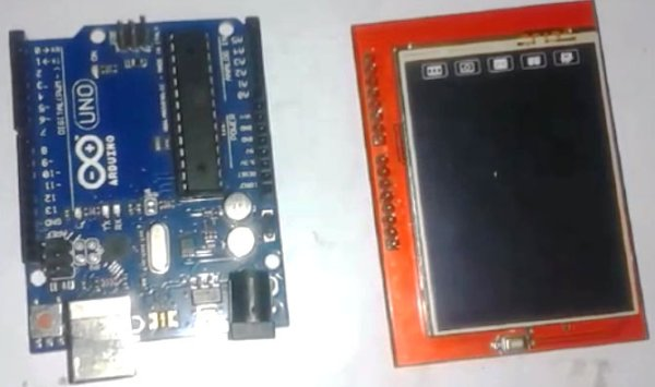 Arduino-and-TFT-LCD
